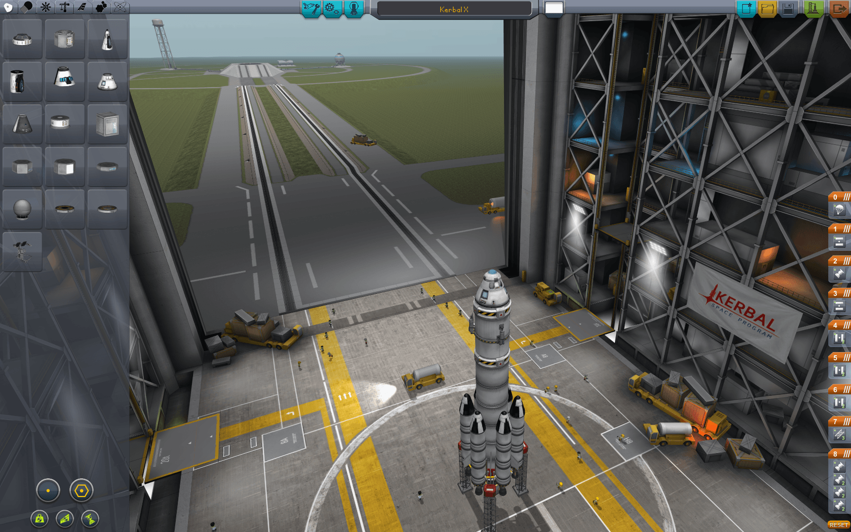 kerbal space program vehicle assembly