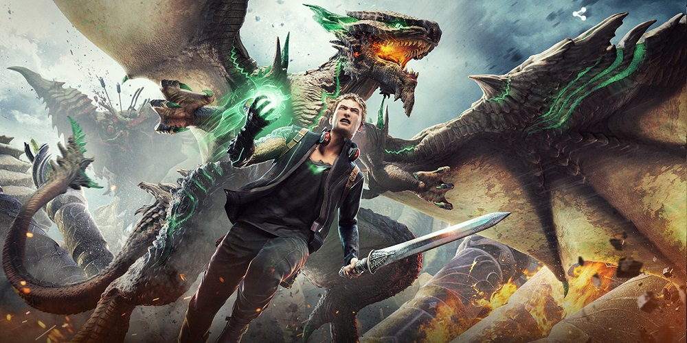 Fight Giant Monsters with Your Pet Dragons in Scalebound