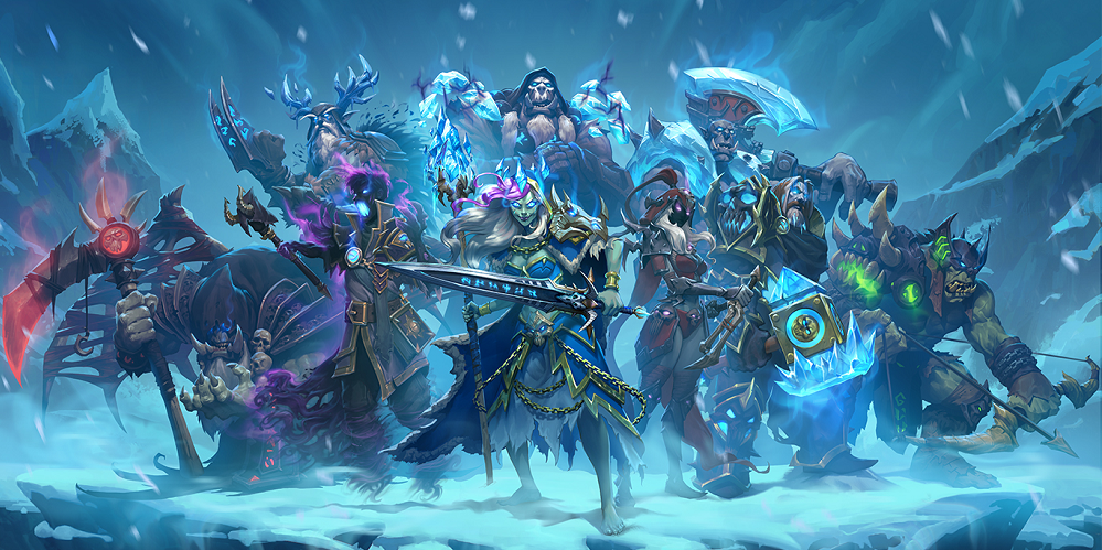 Hearthstone Knights of the Frozen Throne Coming in August